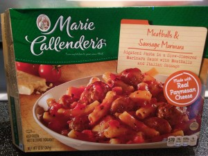 Marie Callender's Meatballs & Sausage Marinara