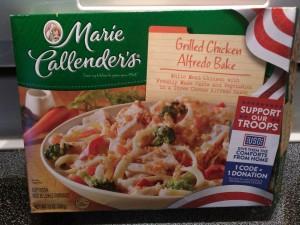 Marie Callender's Grilled Chicken Alfredo Bake