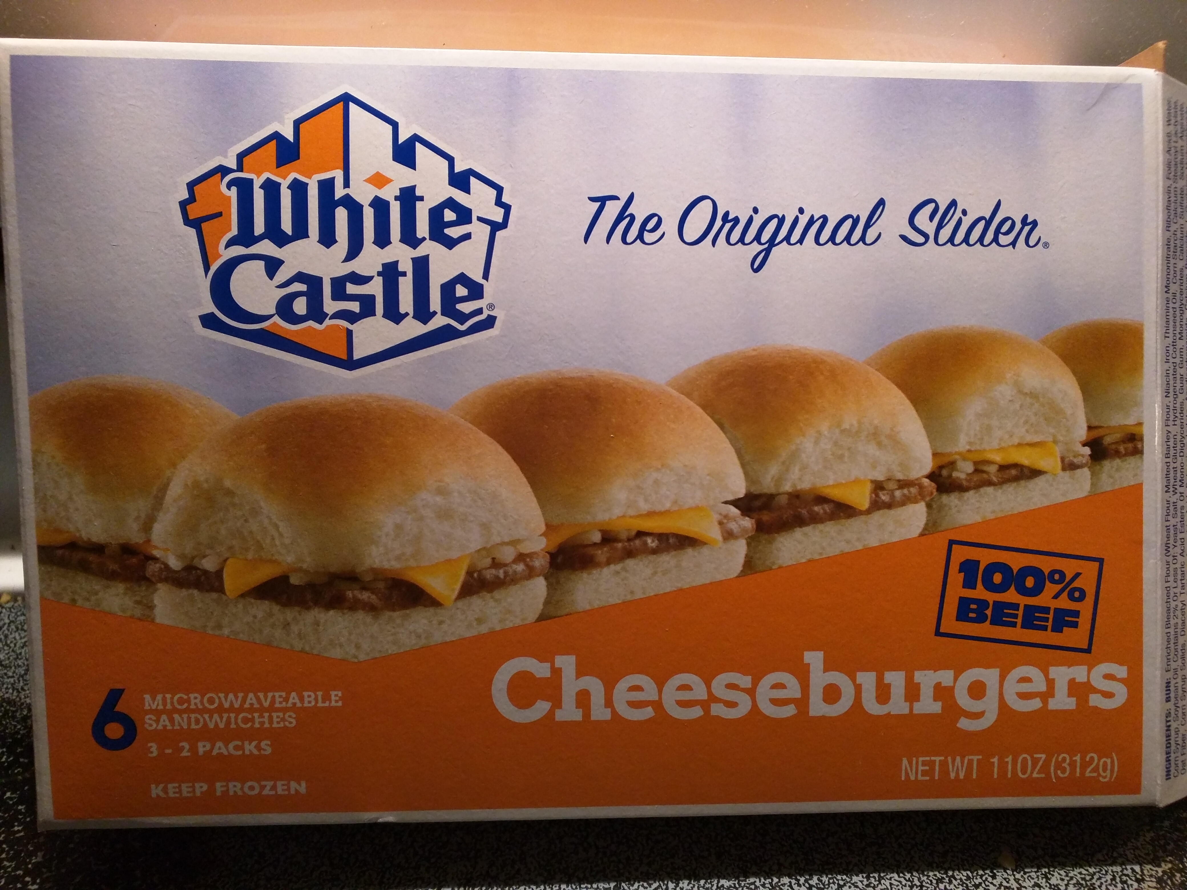 White castle jalapeno sliders from the grocery store for White castle double fish slider with cheese