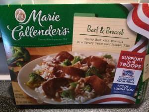 Marie Callender's Beef & Broccoli