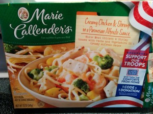 Marie Callender's Creamy Chicken & Shrimp in a Parmesan Alfredo Sauce