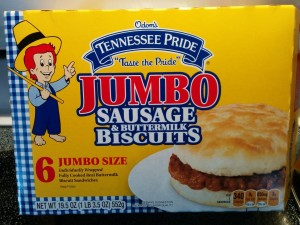 Tennessee Pride Jumbo Sausage Biscuits