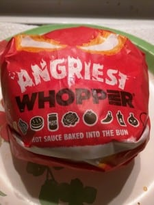 Burger King - Angriest Whopper