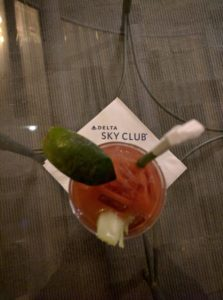 Delta Skyclub Bloody Mary
