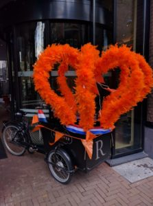 King's Day Celebration Decoration