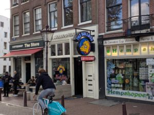 The Bulldog Rock Shop Amsterdam
