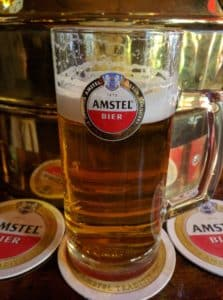 Amstel beet at Cafe Old Sailor