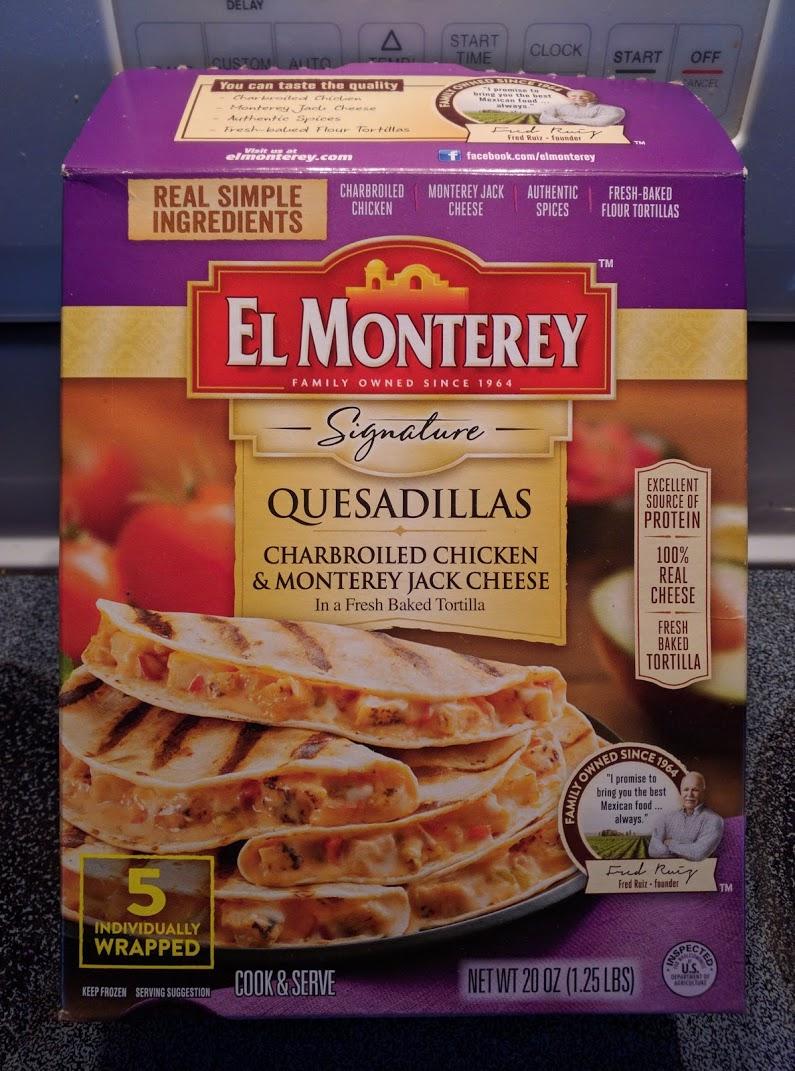 El Monterey Quesadillas Frozen Food Review Travel