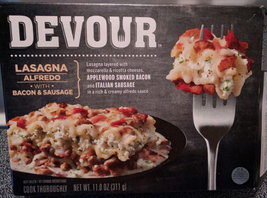 Devour Lasagna Alfredo