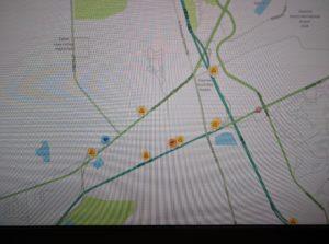 waze traffic alert map
