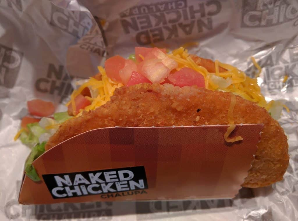 Chungo Reviews: Naked Chicken Chalupa Add Beef - YouTube