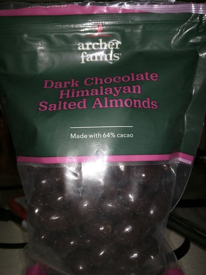 Dark Chocolate Himalayan Salted Almonds