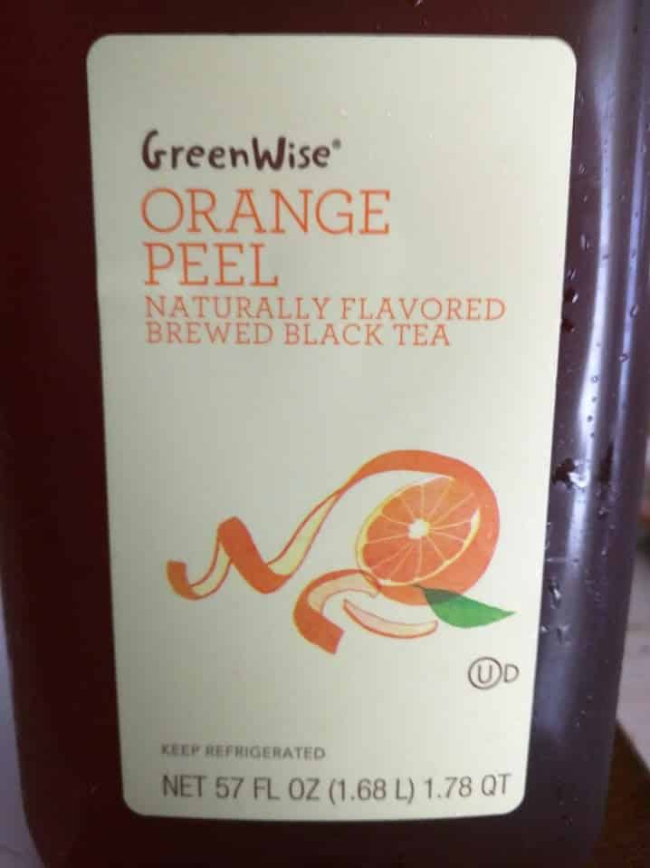 Publix GreenWise Orange Peel Iced Tea